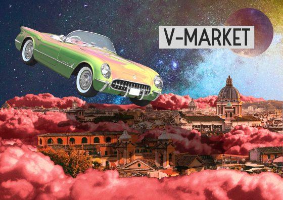 Locandina del Vintage Market Opening domenica 27 settembre Roma
